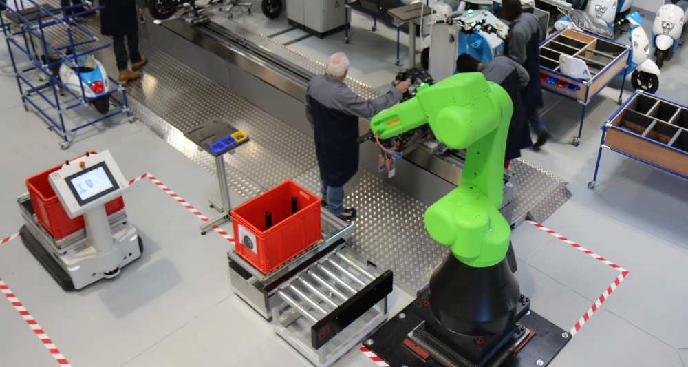 L'usine du futur est en test sur le plateau de Saclay