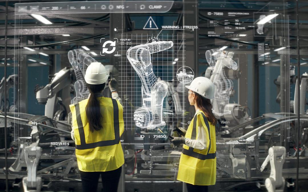 4 leviers majeurs qui façonnent l'usine 4.0